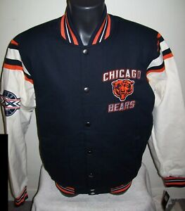 CHICAGO BEARS SUPER BOWL XX CHAMPIONS Jacket  M 2X