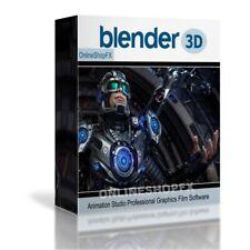 Blender 3D Professional Graphics Animation Design Studio DIGITAL DOWNLOAD