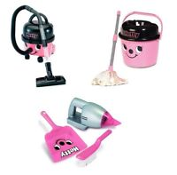 Casdon Little Helper Hetty Hoover, Mop Bucket & Handheld Cleaning Playset Bundle