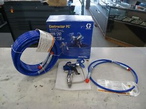 Graco Contractor PC Airless Paint Spray Gun and Hose Kit 17Y046