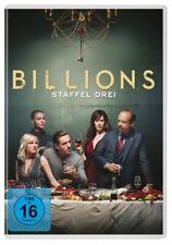 BILLIONS-STAFFEL 3 - PAUL GIAMATTI,DAMIAN LEWIS,MAGGIE SIFF  4 DVD NEU