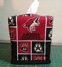 NHL Arizona Coyotes Tissue Box Cover (square) Handmade