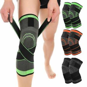 Sports Kneepad Pressurized Elastic Knee Pads Support protector fitness knee