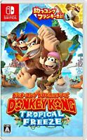 USED Nintendo Switch Donkey Kong Tropical Freeze Japan import*