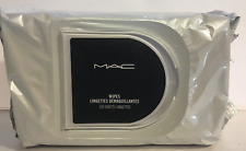 MAC Wipes Cleansing Towelettes 30 Sheets, 45 Sheets or 100 Sheets New