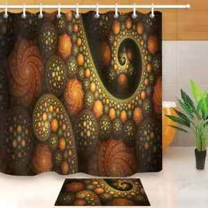 Shining Ball Waterproof Bathroom Polyester Shower Curtain Liner Water Resistant