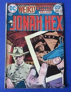 Weird Western Tales JONAH HEX #22 COMIC BOOK ~ DC Bronze Age 1974 ~ VG