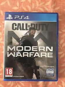Jeu De Ps4 Call Of Duty Modern Warfare Avec Boite