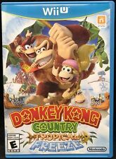 Donkey Kong Country: Tropical Freeze Video Game Wii U Complete Comes With Manual