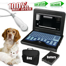 Veterinary Ultrasound Scanner Digital Laptop Machine & Micro Convex Cat/Dog/Pet