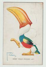 Postcard - Lawson Wood - Keep your Pecker up - c1925