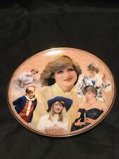 Princess Diana Wales Danbury Mint Royal Through The Years Fine Memorial Plate