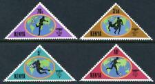 Kenya: 1982 World Cup Soccer (225-228) MNH