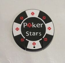 Minigz Poker Stars Chip Usb Stick 64gb Memory Keyring Flash Drive Computer Gift