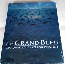 LE GRAND BLEU (Blu-ray) STEELBOOK / English , French / Region A