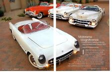 1953 CORVETTE / 98 FIESTA / SERIES 62 (GM MOTORAMA) ~ GREAT 10-PAGE ARTICLE / AD