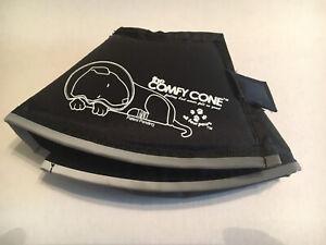 The Original Comfy Cone Soft Pet Recovery Collar XS 11 CM - Cat and Dog -Black