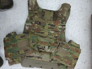 multicam PLATE CARRIER by KDH Defense System SIZE x large