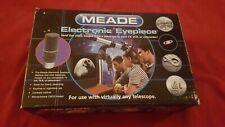 Meade Telescope Electronic Eyepiece open box New