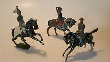Vintage/Antique lead figures Mounted on Horse  Toy Britain's Old Soldiers Knight