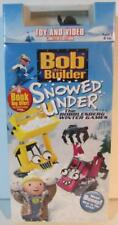 Bob the Builder Snowed Under VHS & TOY Limited Edition NEW