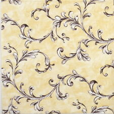 4x Paper Napkins for Decoupage Craft and Party - Manola beige