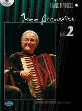 Frank Marocco: Jazz Accordion, Volume 2 Accordion Sheet Music, CD Artist Songboo