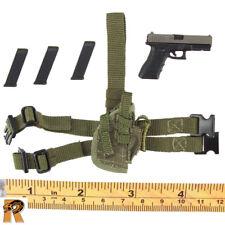 IDF Nachsol Reconnassaince - Pistol w/ Leg Holster - 1/6 Scale - Damtoys Figures