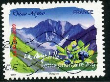 TIMBRE FRANCE AUTOADHESIF OBLITERE N° 313 / FLORE DU SUD / LA MYRTILLE