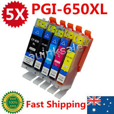 5X CLI 651 XL PGI 650 Ink Cartridge for Canon IP7260 MX726 MX926 MG5460 MG6360
