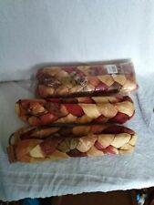 plaited tie backs