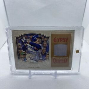 2016 Topps Gypsy Queen Anthony Rizzo Game Used Jersey Patch Relic Chicago Cubs