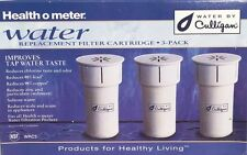 Health O Meter Water By Culligan Replacement Filter Cartridge WRC3 3 Pack