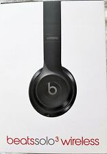 NEW Beats by Dr. Dre Beats Solo3 Wireless Headphones Gloss Black in SEALED BOX