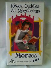 KISSES, CUDDLES & MOONBEAMS ~ MONICA TRAPAGA ~ VHS VIDEO ~ FREE POST