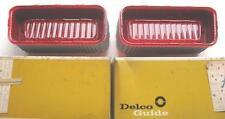 NOS 1969 CHEVROLET BELAIR BISCAYNE TAIL LAMP LENSES PAIR  5961185 5961186