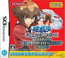 Used DS Yu-Gi-Oh! World Championship 2008 Konami  NINTENDO JAPANESE IMPORT