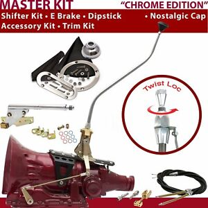 C4 Shifter Kit 23 Swan E Brake Cable Trim Kit Dipstick For F7218