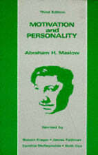 Motivation and Personality by Abraham H. Maslow (Paperback, 1987)