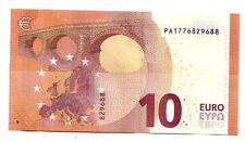"Olanda  nuovi 10  € Draghi  P002G""    FDS   Joh  Enschede Security Printing"