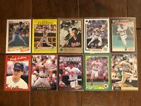 Brady Anderson - Baltimore Orioles - 10 Baseball Card Lot - No Duplicates