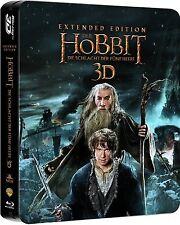 DER HOBBIT: DIE SCHLACHT DER FÜNF HEERE, Extended Edition (Blu-ray 3D) Steelbook