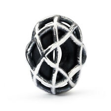 Trollbeads Perlina Argento Cielo Notturno spacer Tagbe-10184 415408