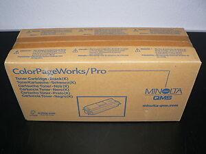 Minolta QMS Originaltoner BLACK 0940-401 ColorPageWorks/Pro