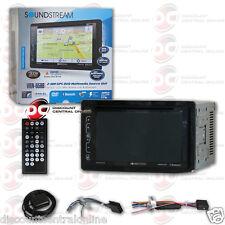 "SOUNDSTREAM VRN-65HB CAR 2-DIN 6.2"" LCD SCREEN DVD CD GPS NAV BLUETOOTH STEREO"