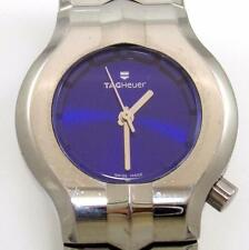 TAG Heuer WP 1318 Ladies Alter Ego Blue Sapphire Stainless Steel Wrist Watch QX