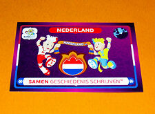 34 MASCOTTES NEDERLAND PAYS-BAS POLOGNE POLSKA FOOTBALL PANINI UEFA EURO 2012