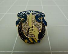 Gold Tone Enamel 7TH Cavalry GARRY OWEN Lapel Pin 4.2Grams