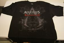 New! Assassin's Creed: Brotherhood Promotional Video Game T-shirt (Size: Large)