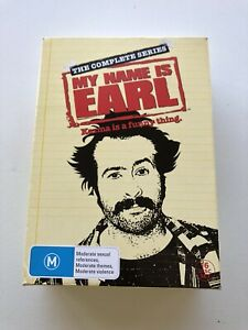 My Name Is Earl The Complete Series New Free  Post Box Set 16 Disk Region 4